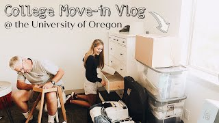 UO COLLEGE MOVE IN VLOG 2018 PT 1 | MOVING INTO MY 1ST APARTMENT