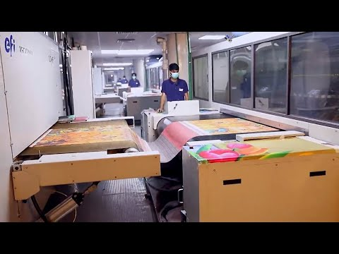 Digital Fashion Printing on Fabric - HunbulTex