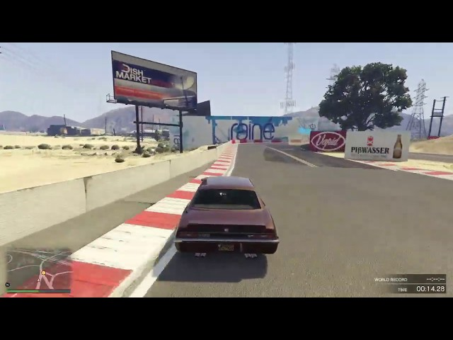 GTA Online Race: Bollingbrook Circuit - link in description