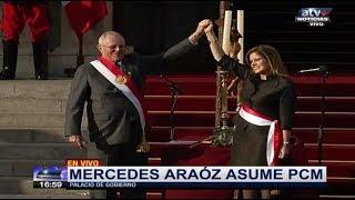 JURAMENTACIÓN DEL GABINETE DE MERCEDES ARAOZ - PPK JURAMENTA A NUEVOS MINISTROS EN PALACIO 17/09/17