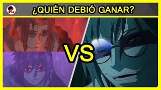Naruto: Itachi y Sasuke vs Kabuto - QUIÉN DEBIÓ GANAR