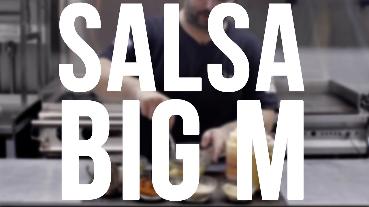 Cómo hacer la famosa salsa BIG M - Academia de Hamburguesas en 1'