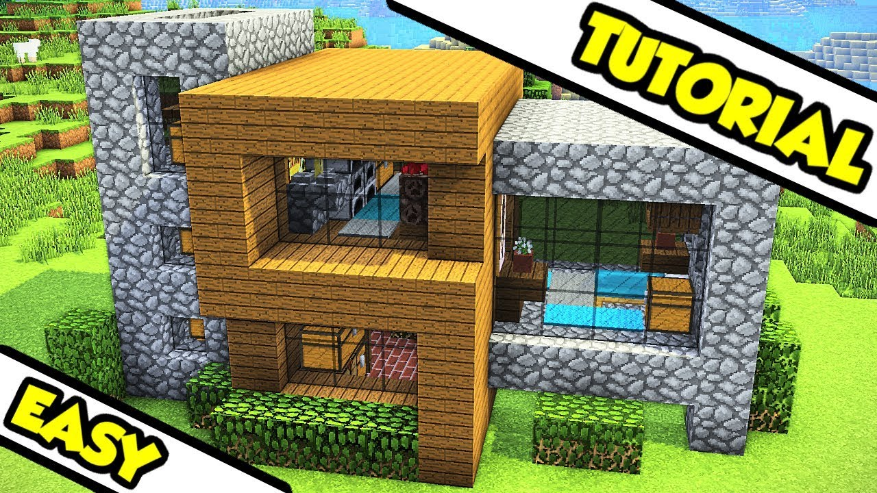 Minecraft Ultimate Survival House Tutorial How To Build Youtube