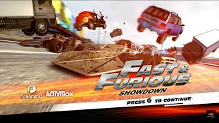 Fast & Furious: Showdown -- Gameplay (PS3)