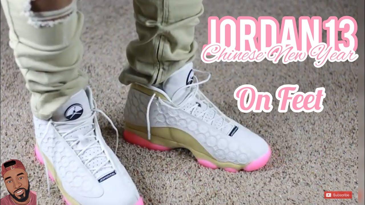 Air Jordan 13 Cny Chinese New Year On Feet Cny Youtube