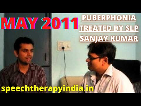 speech therapy in India, by speech therapist SLP Sanjay an AIIMS alumnus for  Voice disorder, After