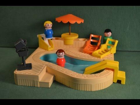 Fisher Price Little People Swimming Pool Set #2526