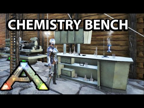 Chemistry Bench How To In Ark Survival Evolved Youtube