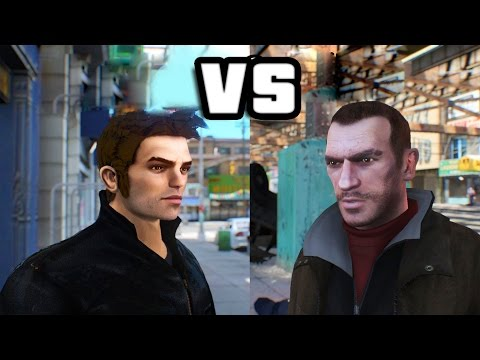 GTA IV - Niko Bellic meets Claude Speed