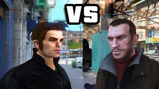 GTA IV - Niko Bellic meets Claude Speed
