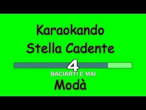 Karaoke Italiano - Stella Cadente - Modà ( Testo )