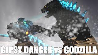 Godzilla vs Gipsy Danger: The Movie: The Prequel 2