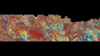 Inertial Confinement Fusion Simulation Fly Through