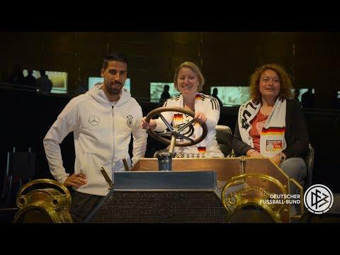 Fan-tastic Moment: Mit Sami Khedira bei PK und Training