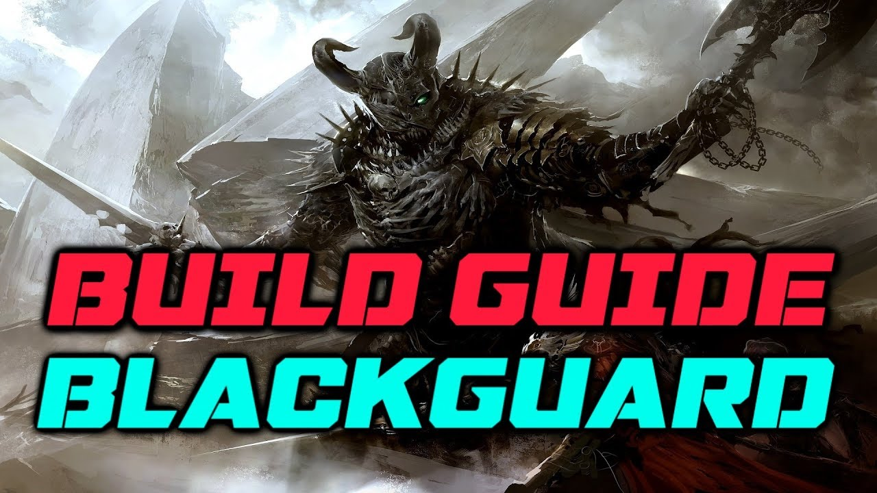Eder the Blackguard (Fighter/Rogue) – Pillars of Eternity 2: POTD Build  Guide