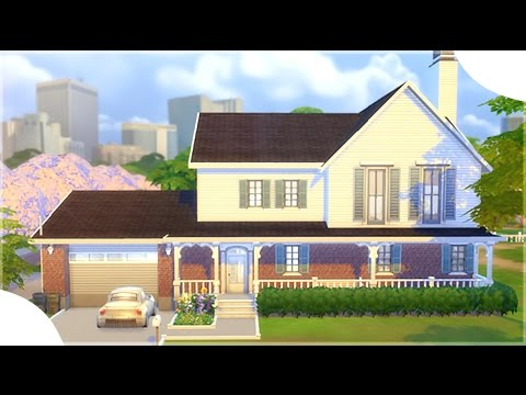 The Sims 4: House Building || MY IRL HOUSE || #DesignAndDecorate