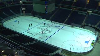 Verizon Center Ice Building Timelapse - 9/11/14