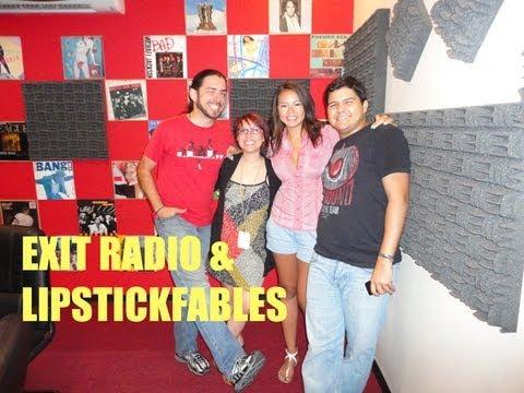 Mi Entrevista con Exit Radio de La Super100 en Tegucigalpa