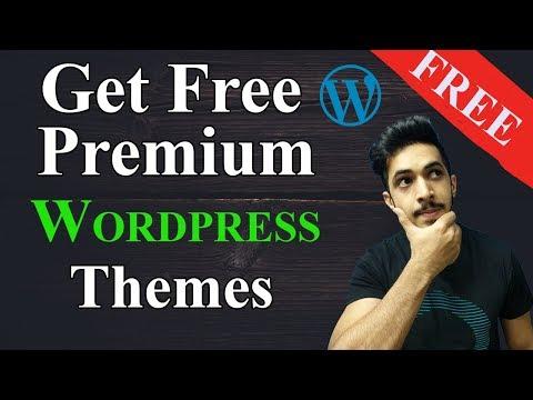 Free WordPress Premium Theme Download (Hindi) | Get Premium Wordpress Themes