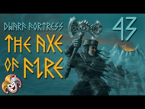 Dwarf Fortress ~ The Axe of Fire Saga ~ 43 Golden Walls