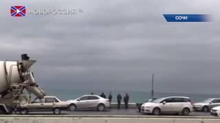 Самолет Ту-154 разбился в Черном море