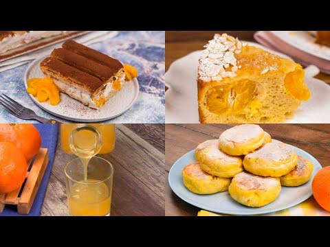 5 Tangerine recipes to make right now