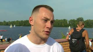 Украинский гимнаст Игорь Радивилов о проведении Олимпийского урока в Киеве 1 сентября
