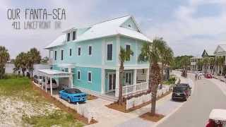 our fanta sea 411 lake front dr luxury vacation rental in carillon in panama city beach