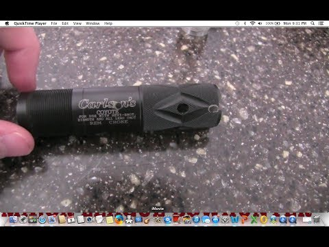 Carlson's Coyote Choke Tube: Review - YouTube