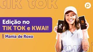 Imagem do prévia do vídeo: Como EDITAR VÍDEOS no TIK TOK e KWAI? Dicas, truques e tutorial completo!