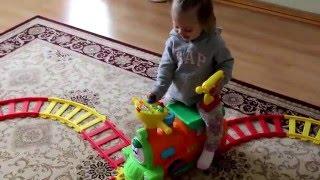 Kiddieland детский автомобиль каталка (паровоз на железной дороге )