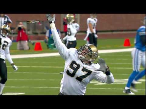 Jeff Charleston New Orleans Saints defensive lineman