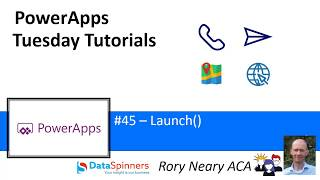 PowerApps Tuesday Tutorials #45 Launch()