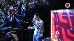 Mega-Talent: Mega-Auftritt bei den Hamburg Freezers