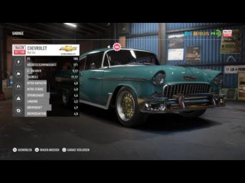 Need For Speed Payback Chevrolet Bel Air Restauration 1955 Ps4