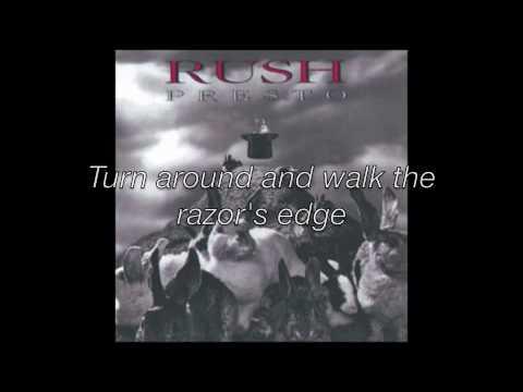 Rush- The Pass w/ Lyrics
