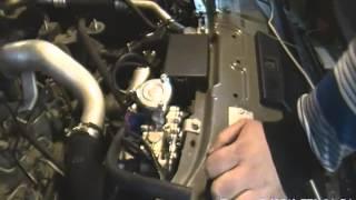 Установка ГБО Blue Power на автомобиль OPEL ANTARA. Газодизель.