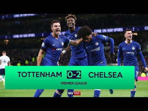 Tottenham 0-2 Chelsea | Willian Stars As Mourinho Beaten By Former Employers