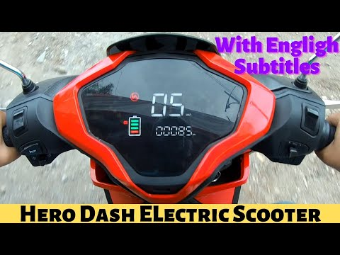 2019 Hero Dash Electric Scooty Ride Review|Low Speed Model|कैसा है Performance?