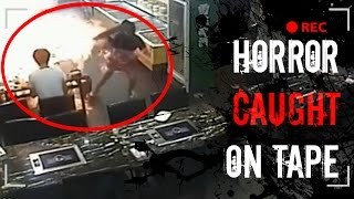 5 Shocking & Horrifying Restaurant Moments CAUGHT ON VIDEO | Disturbing CCTV Camera Footage(Few things are better than eating dinner at a restaurant with friends and family. But horrific accidents can happen anywhere, and these clips prove that in the ..., 2016-05-07T17:00:20.000Z)