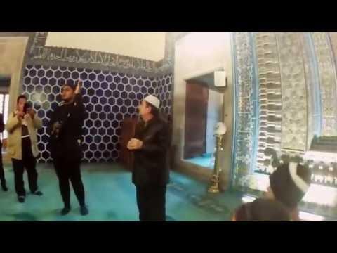 7 version of Azan by Imam of Green Mosque, Bursa, Turkey