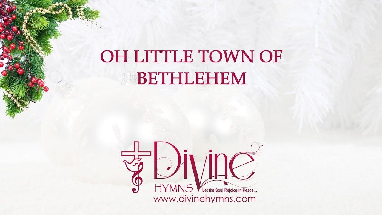Oh Little Town Of Bethlehem with Lyrics Christmas Carol Song - YouTube