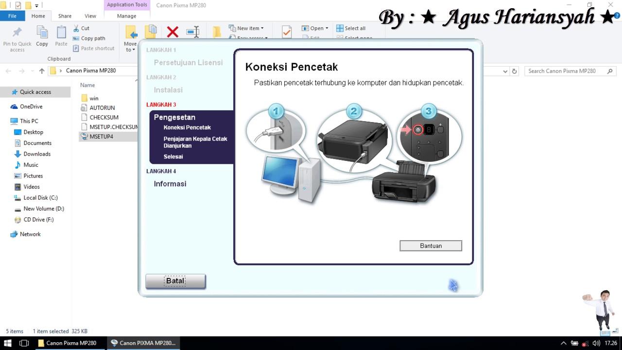 driver scan canon pixma mp280