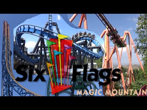 The Roller Coasters of Six Flags Magic Mountain