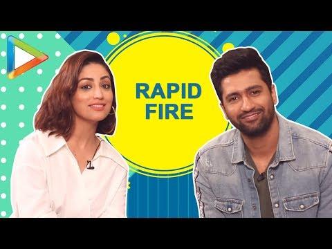 PAISA VASOOL: Vicky Kaushal & Yami Gautam's HILARIOUS rapid fire | URI