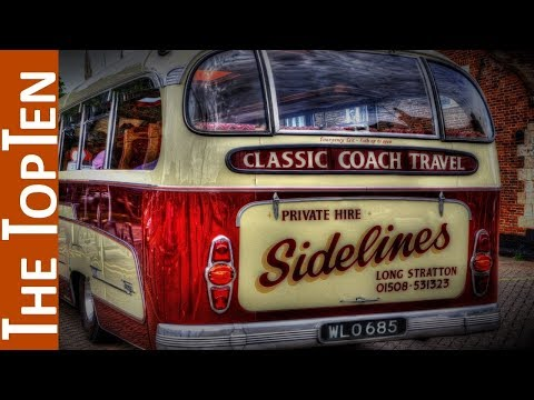 The Top Ten Coolest Old Buses