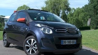 Citroën C1 road test (English subtitled)