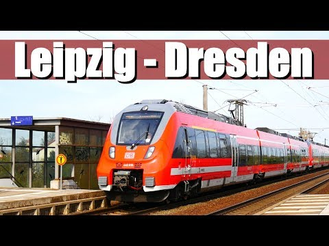 "[Doku] Bahnstrecke: Leipzig - Dresden | RE50 ""Saxonia Express"" (Teil 2)"
