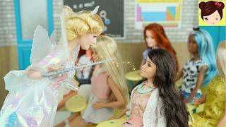 """Frozen Adolescentes  """" Clase de Magia """" Historia con Muñecas Royal High EP2 - Hijas de Elsa Anna"""