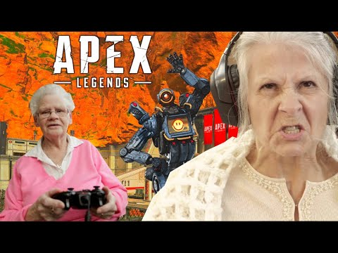 Carried by the Worlds Best GRANNY GAMERS in Apex Legends